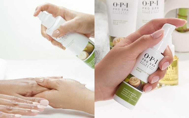 OPI古布阿蘇手部白皙精華乳112ml/1,800元清爽的乳液質地,延展性佳,能快速吸收不粘膩,能提亮膚色,令雙手柔嫩亮澤。(圖/翻攝網路)