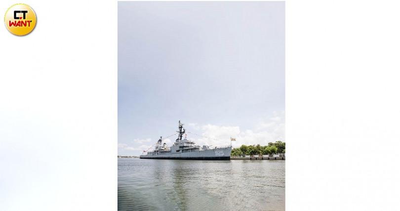 德陽艦經過年餘的除鏽、粉刷等重大工程,2010年首度開放民眾參觀。