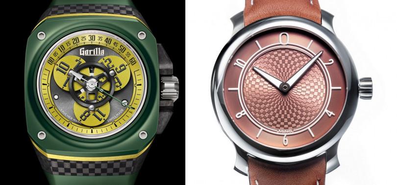 GORILLA WATCHES/Fastback GT Drift(左);MING/17.06 Copper