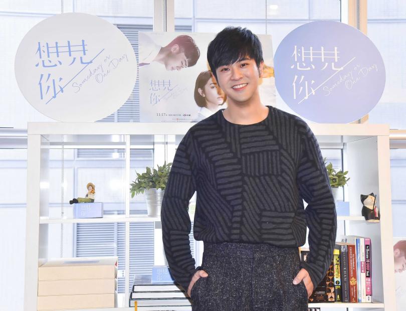 導演黃天仁讚顏毓麟是「下一個黃秋生」。(圖/衛視中文台提供)