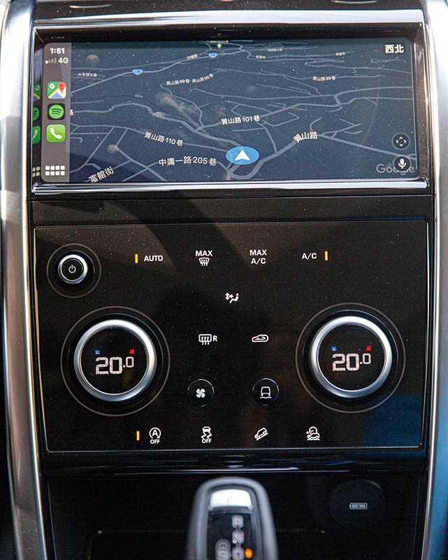 中控台由8吋升級為10吋Touch Pro觸控螢幕,並標配 12.3 吋數位儀表。(攝影/黃耀徵)