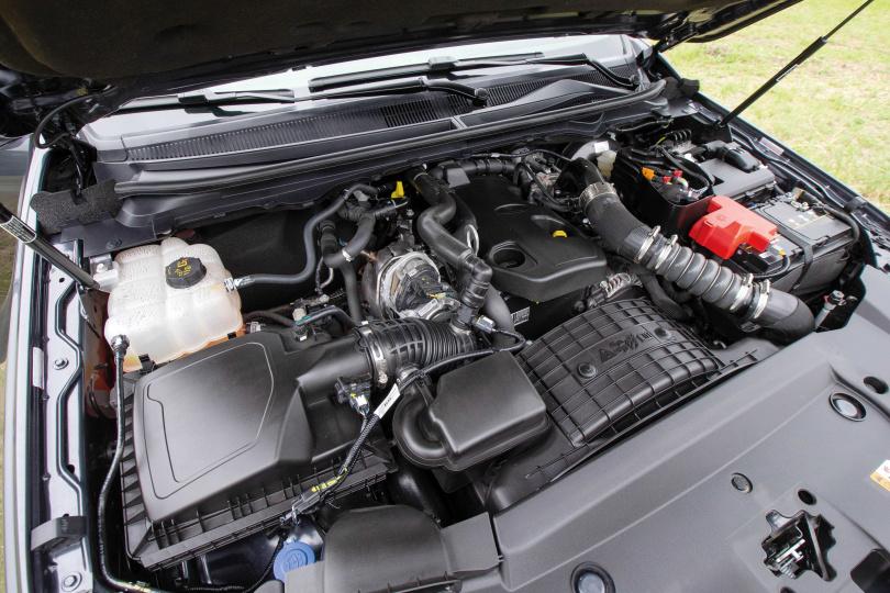 搭載2.0升柴油渦輪引擎的1.5廂RANGER職人型,可輸出170最大馬力與42.8斤米強悍扭力。(圖/黃耀徵攝)