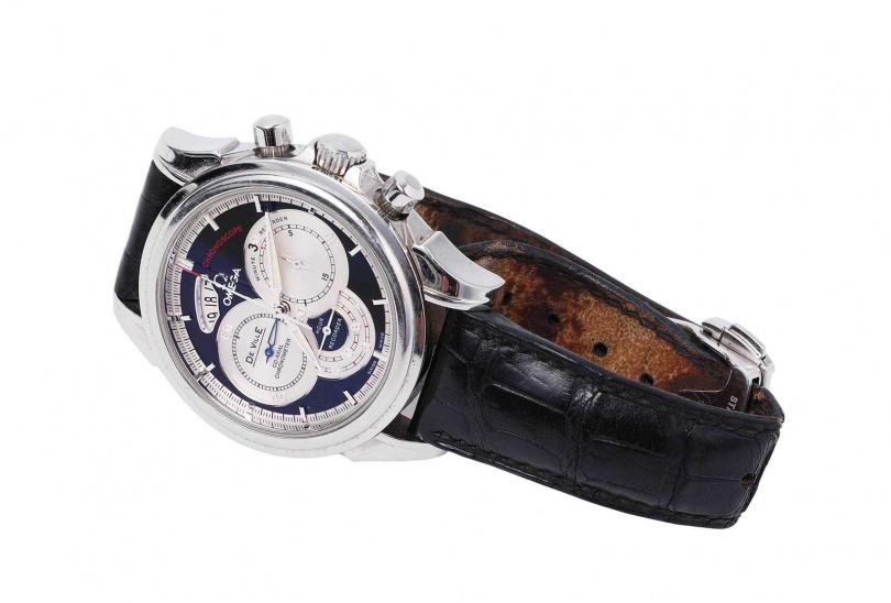 OMEGA Chronoscope系列 計時腕錶/180,000元(已絕版)(圖/戴世平攝)