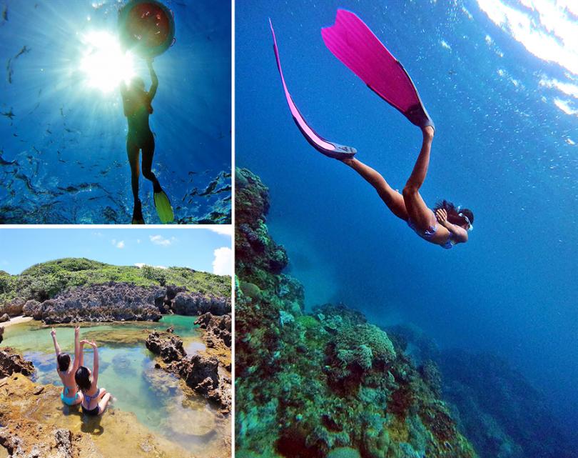 「深度浮潛水中攝影」@ 墾丁小峇里島
