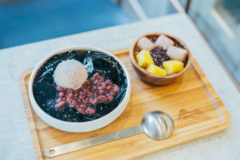 芋泥嫩仙草盛盤(79元)(圖/八時神仙草提供)