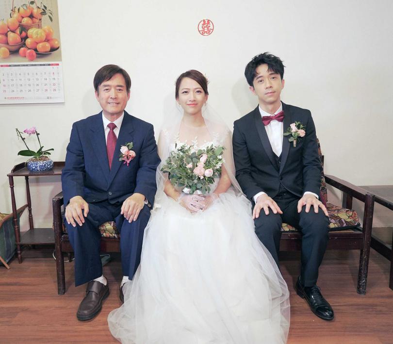 光良在MV中飾演新郎,檢場則是他的岳父。