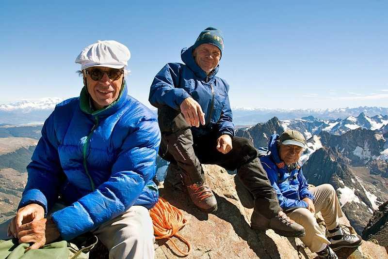 左:Douglas Tompkins 右:Yvon Chouinard