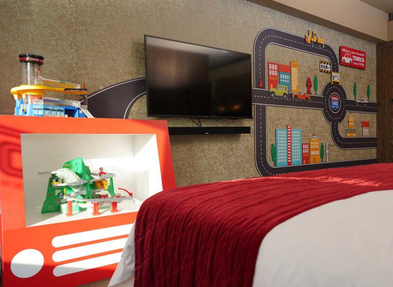 「TOMICA博 - TOMICA小汽車50週年博覽會」期間限定每晚6,599元起。
