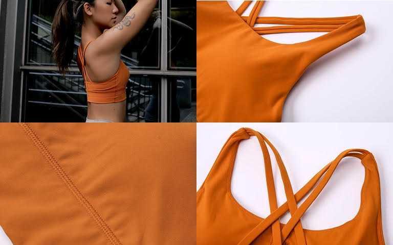 AM ME超自在X美背型運動內衣/980元側邊加高、交叉型雙肩帶、下緣鬆緊帶加寬,每個細節都是經過特別處理,更能符合運動時的需求。(圖/品牌提供)