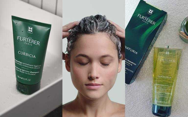Rene Furterer NATURIA蒔蘿均衡髮浴 200ml/800元、Rene Furterer CURBICIA葫蘆沁衡髮浴 150ml/980元(圖/品牌提供)