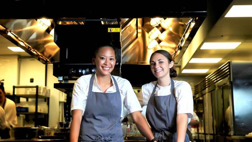 ▲秋宴雙廚,左:Aisha Ibrahim。右:Samantha Beaird。(照片提供/Chefs Club Taipei)