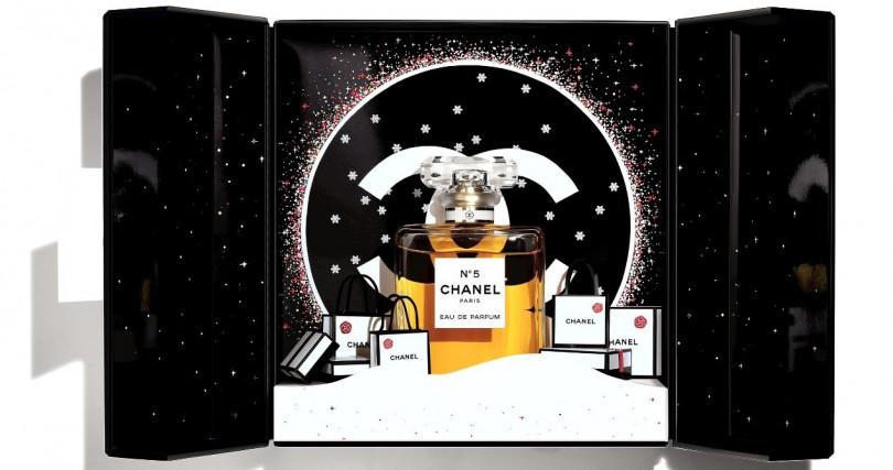 CHANEL N°5節慶香氛珠寶盒(限量) 100ml/6,780元(圖/品牌提供)