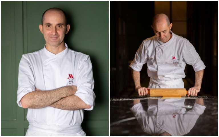 Vito Grippa主廚。(圖/台北萬豪酒店Garden Kitchen提供)
