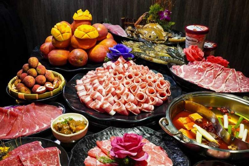 「馬辣」可選擇的品項超過百種,堪稱高CP值。