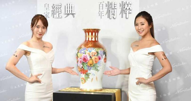 富貴祥虹花瓶。