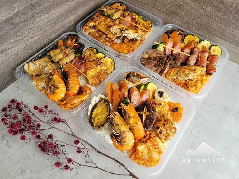 「買醉串燒」推出四款超值餐盒,均一價只要129,採每日限量。(圖片提供:宜蘭ㄚ欣的美食日誌)