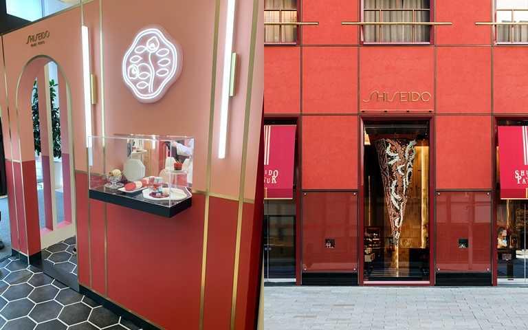 雖然是小小的快閃店,但整體陳設造景就是比照銀座資生堂PARLOUR SALON DE CAFÉ本店,完全不馬虎!(圖/吳雅鈴攝影、品牌提供)