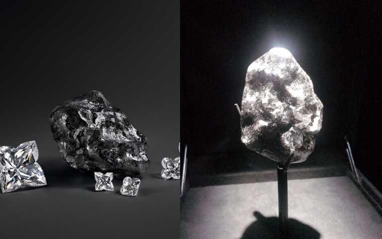 一生一定要親臨看這顆Sewelô鑽石原石。(圖/品牌提供、黃筱婷攝影)