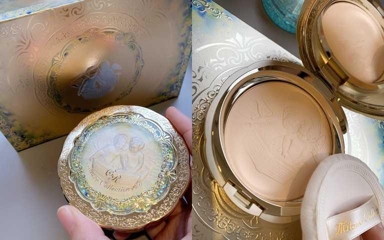 佳麗寶米蘭絕色蜜粉餅2021GR 30g/4,500元 GR版本雖然單價稍高,但保濕度更提升,貴婦名媛可說是人手一盒。(圖/吳雅鈴攝影)