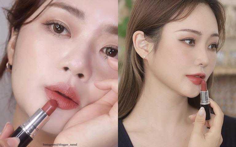 之前看韓妞IG美圖就已經狂被生火的「超水感持色水唇膏」,10月終於在台正式開賣了!(圖/IG@blogger_nanal、IG@girinbt)