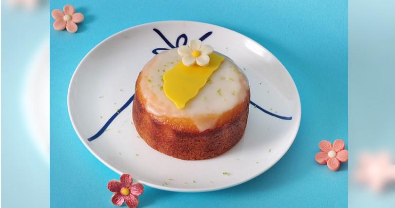 光輝十月限定的寶島檸檬蛋糕