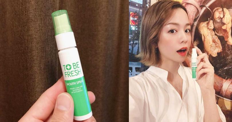 像是TO BE FRESH這些在日本很夯的攜帶型口香噴劑,其實現在在台灣的藥妝通路屈臣氏都有得買!(圖/翻攝網路)