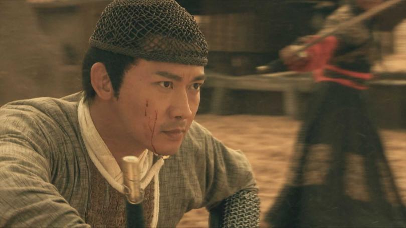 人氣超高的古裝美男聶遠,演出武功高強的黃河大俠趙懷安。(圖/中天提供)