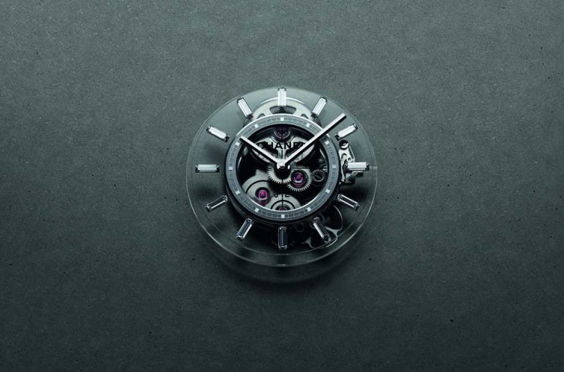 Caliber 3.1透明機芯,專為CHANEL「J12 X-RAY」腕錶全新設計。(圖片提供╱CHANEL)