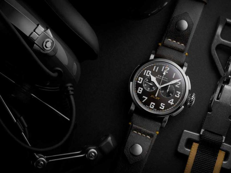 ZENITH「Type 20 Rescue」計時碼錶╱253,900元(圖片提供╱ZENITH)