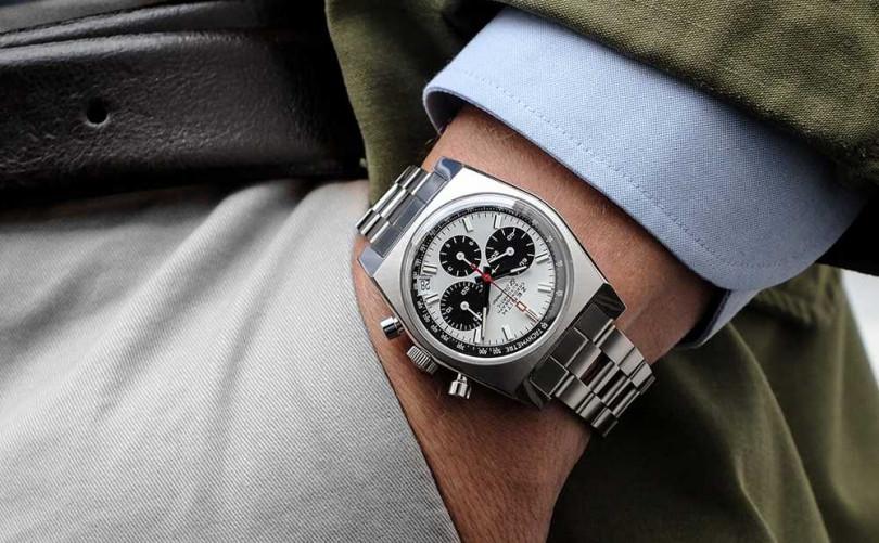 ZENITH「CHRONOMASTER Revival A384」復刻版腕錶╱269,900元(圖片提供╱ZENITH)