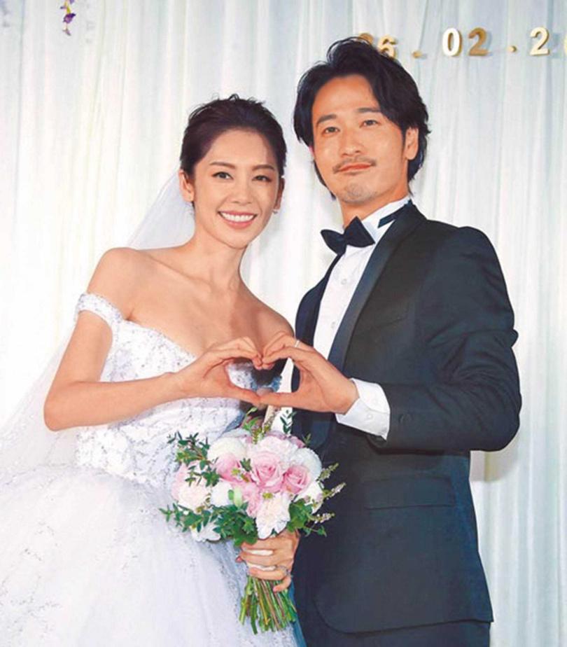 廖奕琁2017年結婚,日籍老公鈴木有樹很支持她實現工作理想。(圖/翻攝自廖奕琁臉書)