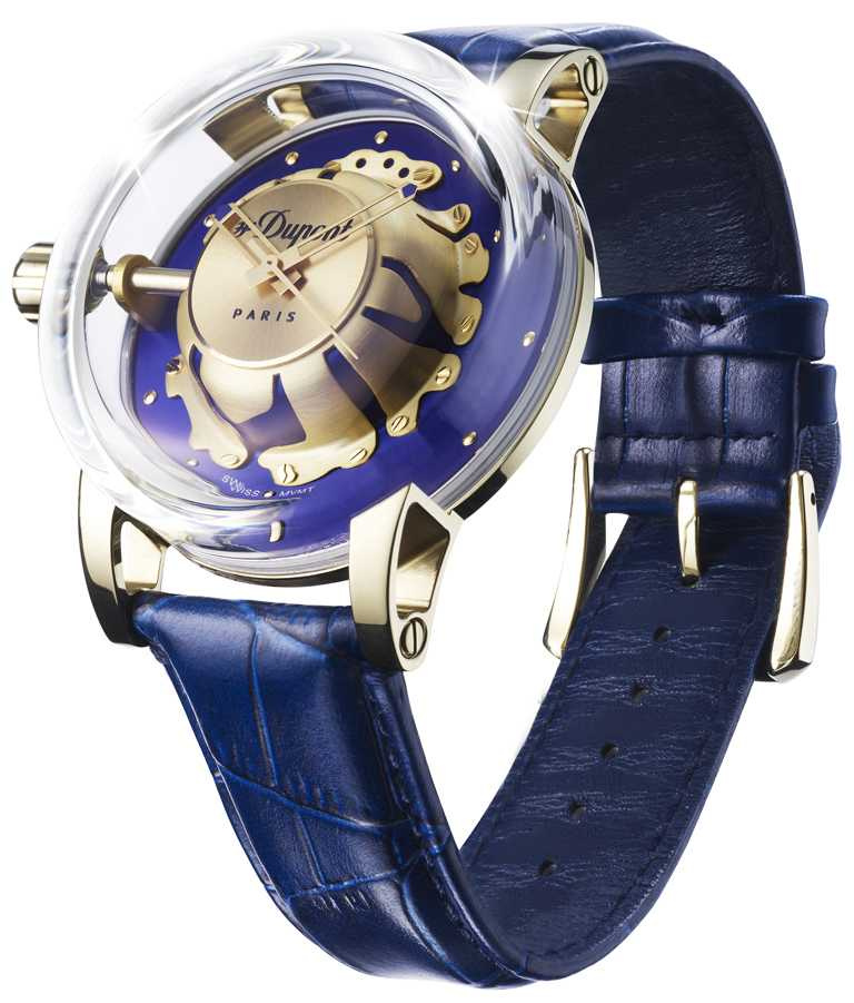 S.T. Dupont「HYPERDOME」系列腕錶,「Be Chic新潮」錶款╱19,800元。(圖╱S.T. Dupont提供)