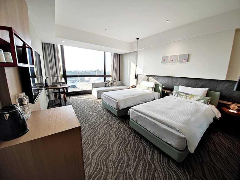 新悦花園酒店共有175間客房。