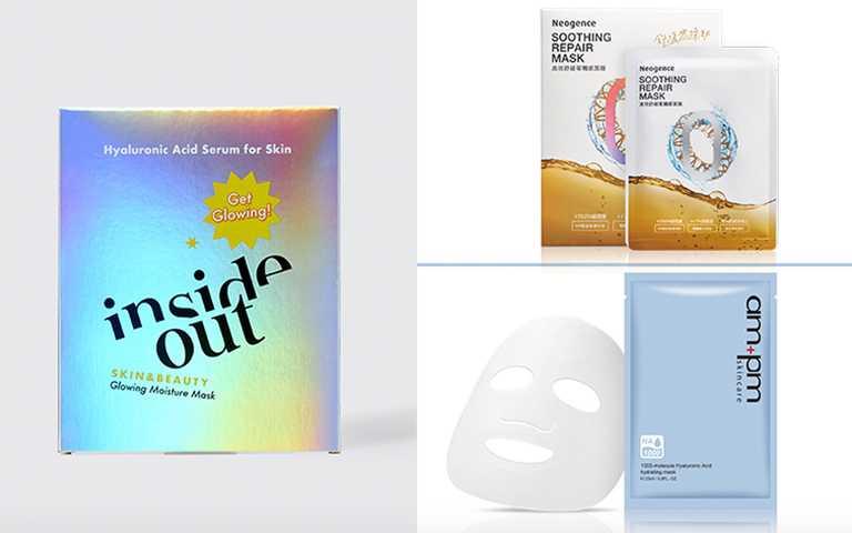 Clean Beauty套用在面膜上更能舒緩肌膚狀況,從根本保濕鎖水讓膚況穩穩過冬!(圖/各品牌提供)