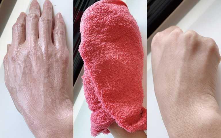 很推薦先塗抹泥膜之後,再用熱毛巾包覆5~10分鐘,接著沖洗乾淨妳會發現滋潤修復效果一級棒!(圖/吳雅鈴攝影)