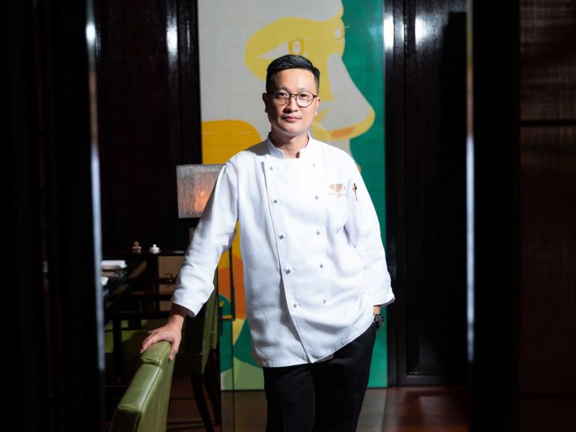 張國邦主廚擁有近25年紮實廚藝經驗。(圖/台北文華東方酒店提供)
