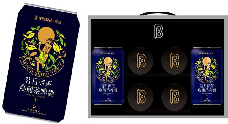 「雲端CHILL月禮盒」是復興空廚首度與啤酒頭聯名,為月餅搭茶酒的有趣混搭,早鳥價為892元。(酒後不開車,未滿18歲請勿飲酒)