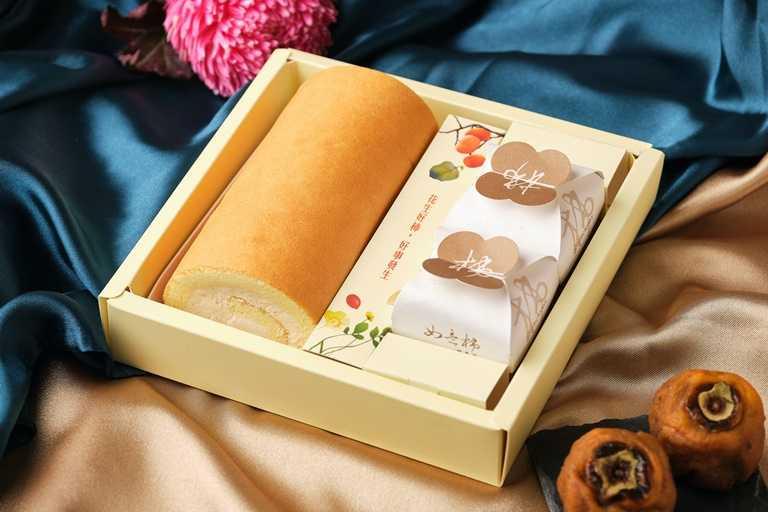 有著花生生乳捲的「復興空廚好柿花生禮盒」,則是不同於傳統月餅的選擇,早鳥價為467元。