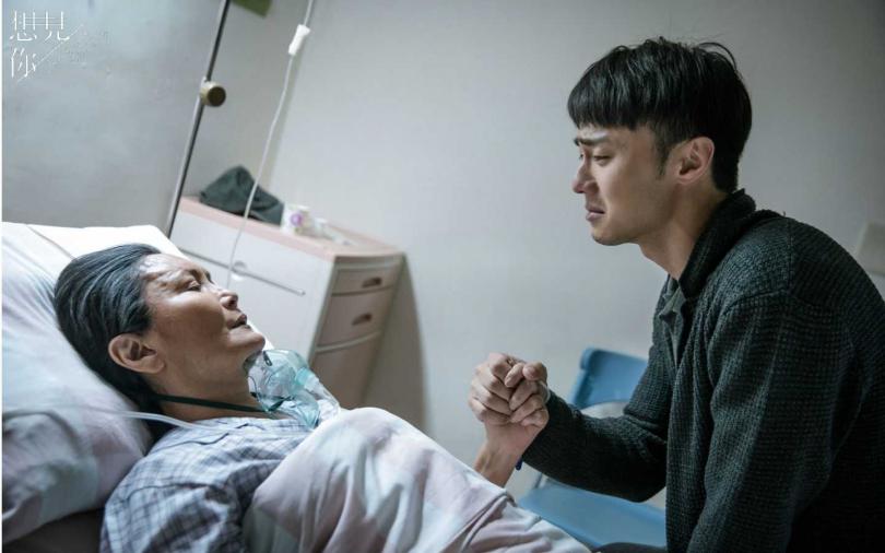 施柏宇醫院和馬惠珍奶的對手戲相當感人。(圖/衛視中文台提供)