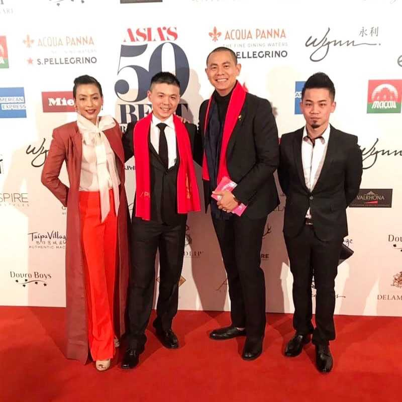 RAW連續5年名列亞洲50最佳餐廳,圖為去年頒獎典禮拍攝。(圖/RAW提供)