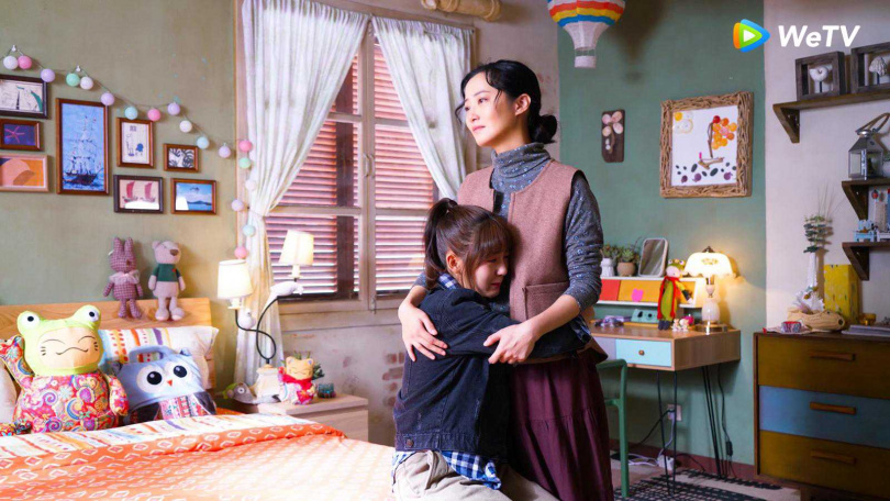 趙小僑在《忘記你記得愛情》演邢菲的媽媽。(圖/WeTv)