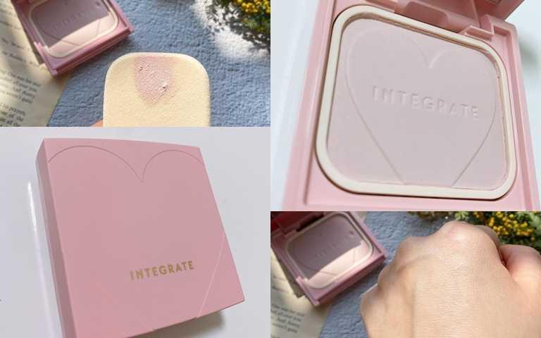 INTEGRATE光透素裸顏蜜粉餅限定組10g/410元限定發售的組合還有附粉盒,要搶要快!(圖/IG@kosuota321、IG@aihakyoko)