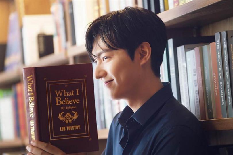 久未訪台的李敏鎬,這次來台展現親和魅力。(圖/正官庄提供)