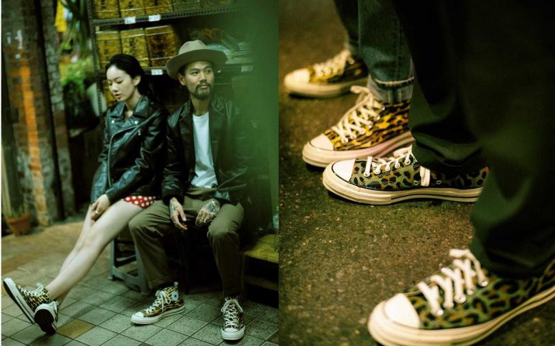 CONVERSE x WACKO MARIA x INVINCIBLE聯名鞋款系列低筒售價為NT3,280;高筒售價為NT3,580,將於12月14日起於INVINCIBLE販售。(圖/Converse)