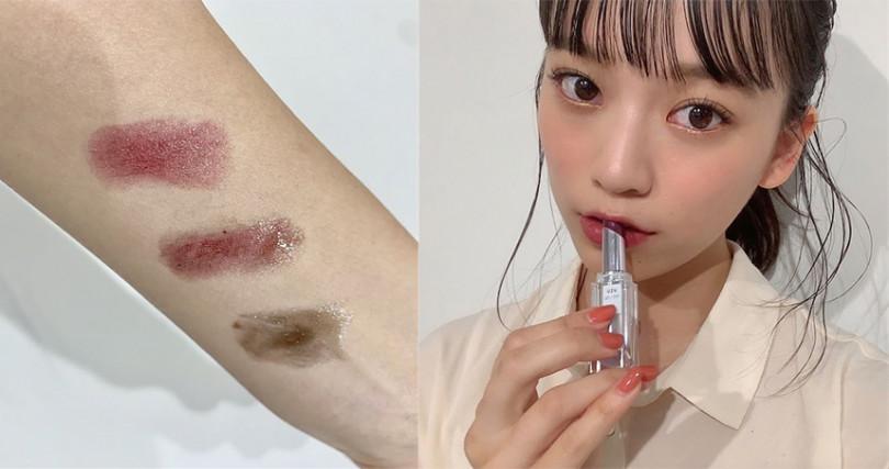 UZU經典溫度唇蜜再推新款,溫度變色唇膏多種選擇好用超熱賣。(圖/yufudayo IG)