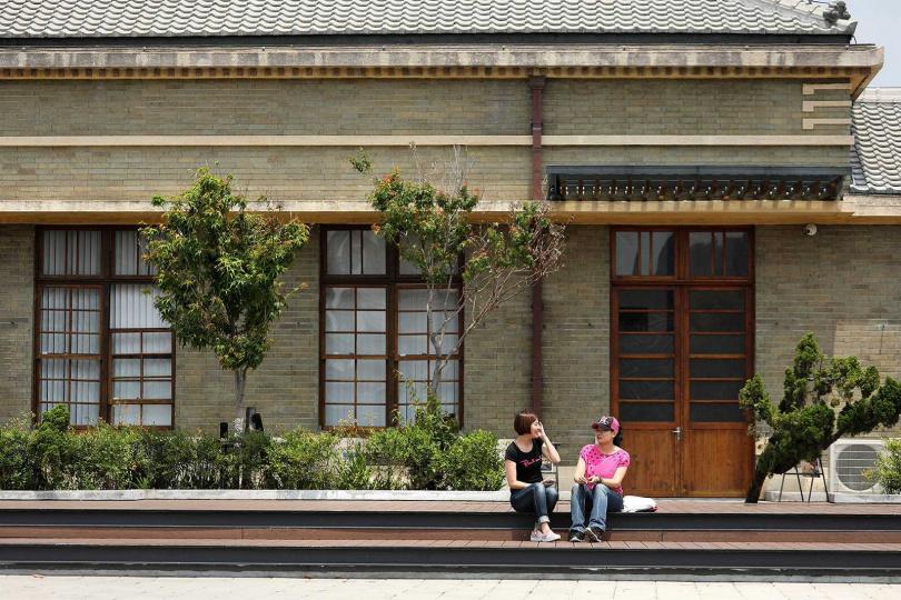 古色古香的「帝國製糖廠」,是日據時期台中市公共建築的代表作之一。(圖/于魯光攝)
