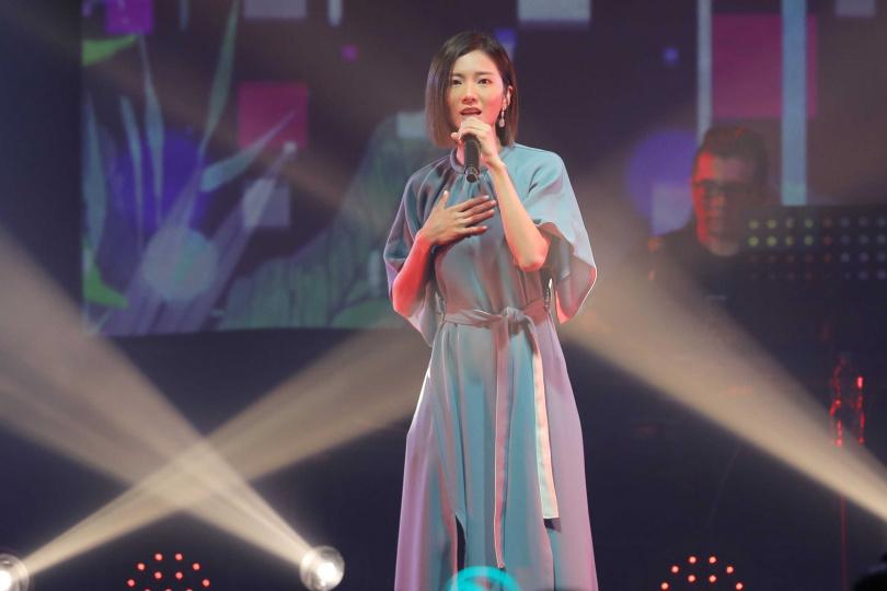蔡黃汝睽違9年舉辦於華山Legacy舉辦《這些年教會我的事》演唱會。(攝影/林士傑)
