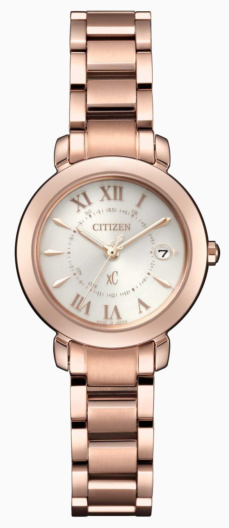 CITIZEN「xC輕奢光系列」ES9442-55A腕錶╱29,900元。(圖╱CITIZEN提供)