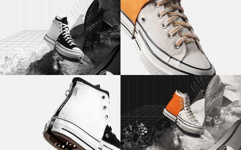 Converse x Feng Chen Wang 2-in-1 Chuck 70鞋款建議售價為NT5,180。(圖/Converse)
