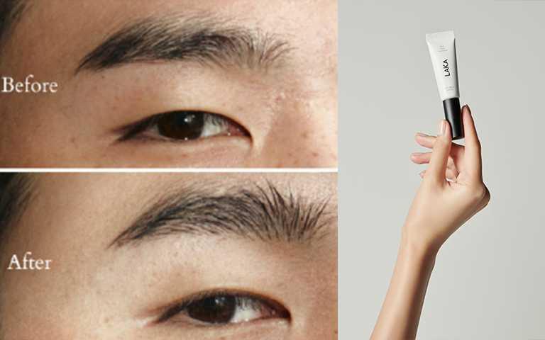 LAKA雕塑野生透明眉膠新品特價NT360。(圖/LAKA提供)